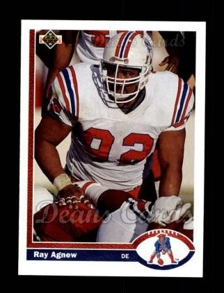 1991 Upper Deck #352  Ray Agnew