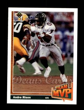 1991 Upper Deck #451  Andre Rison