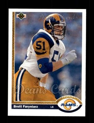 1991 Upper Deck #568  Brett Faryniarz