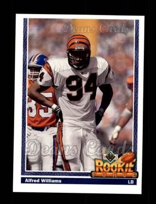 1991 Upper Deck #623  Alfred Williams