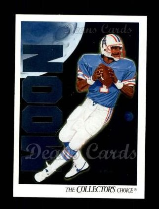 1991 Upper Deck #90   -  Warren Moon Houston Oilers Team