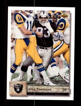 1992 Upper Deck #116  Greg Townsend