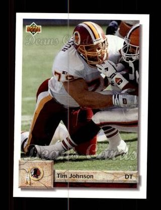 1992 Upper Deck #125  Tim Johnson