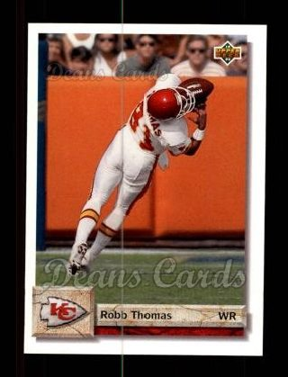 1992 Upper Deck #149  Robb Thomas
