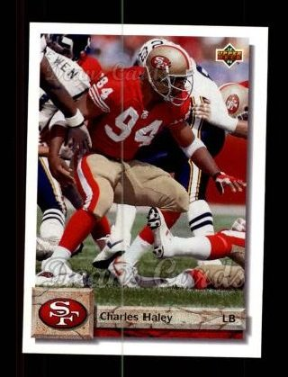 1992 Upper Deck #170  Charles Haley