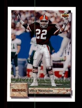 1992 Upper Deck #181  Vince Newsome