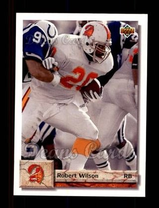 1992 Upper Deck #320  Robert Wilson