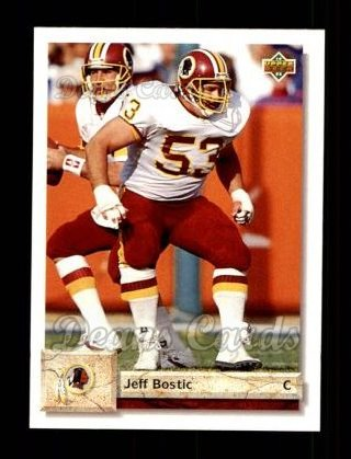 1992 Upper Deck #456  Jeff Bostic
