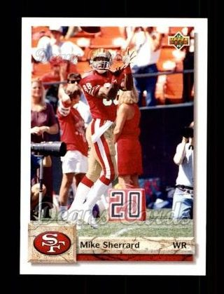 1992 Upper Deck #465  Mike Sherrard