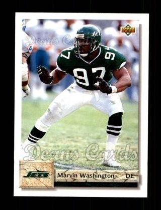 1992 Upper Deck #480  Marvin Washington