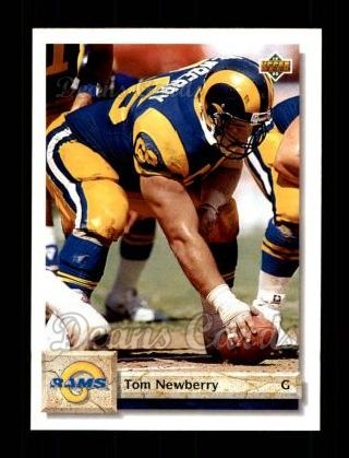 1992 Upper Deck #504  Tom Newberry