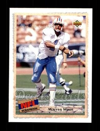 1992 Upper Deck #513  Warren Moon