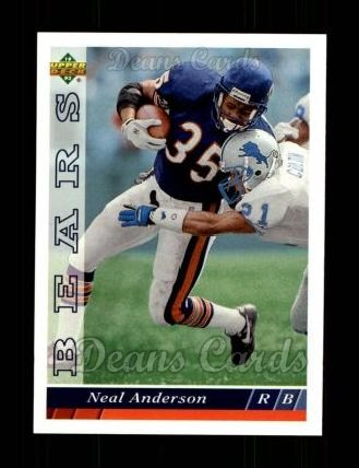 1993 Upper Deck #135  Neal Anderson