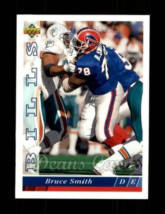 1993 Upper Deck #136  Bruce Smith