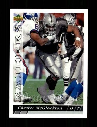 1993 Upper Deck #178  Chester McGlockton