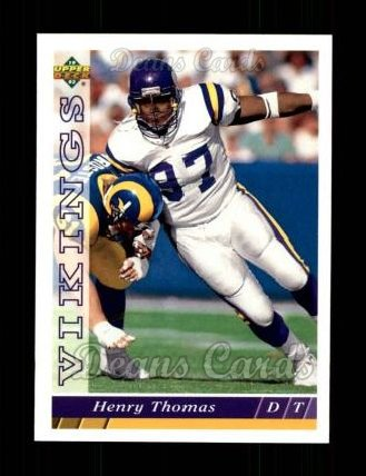 1993 Upper Deck #191  Henry Thomas