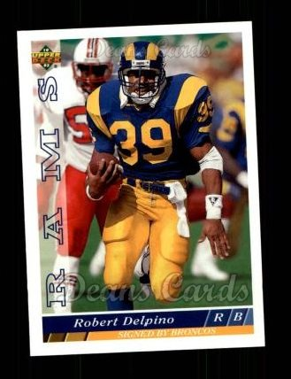 1993 Upper Deck #214  Robert Delpino