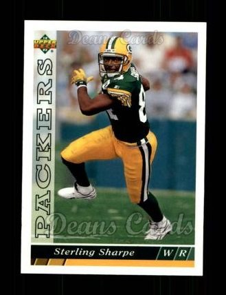 1993 Upper Deck #248  Sterling Sharpe