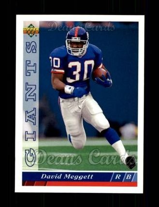 1993 Upper Deck #331  Dave Meggett