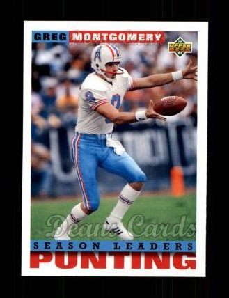 1993 Upper Deck #429  Greg Montgomery