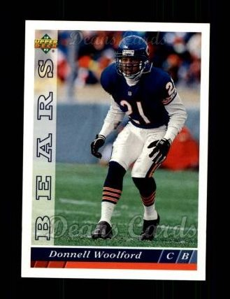 1993 Upper Deck #493  Donnell Woolford