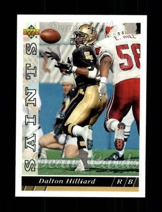 1993 Upper Deck #526  Dalton Hilliard