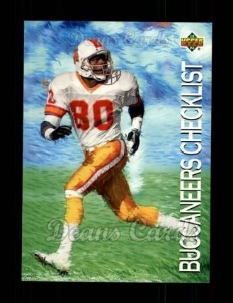 1993 Upper Deck #68   -  Lawrence Dawsey Tampa Bay Buccaneers Team