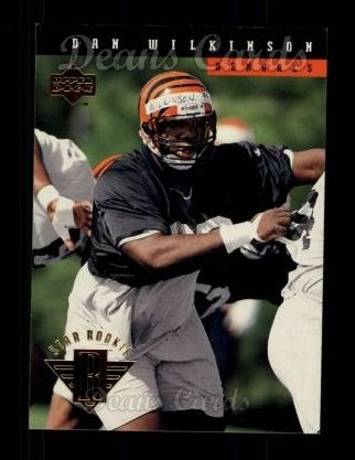 1994 Upper Deck #1  Dan Wilkinson