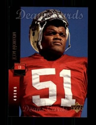 1994 Upper Deck #58  Ken Norton Jr.