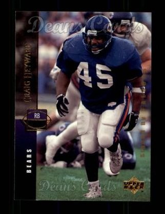 1994 Upper Deck #62  Craig Heyward
