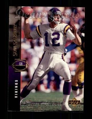 1994 Upper Deck #77  Sean Salisbury
