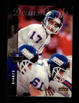 1994 Upper Deck #80  Dave Brown