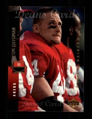1994 Upper Deck #85  Tom Rathman