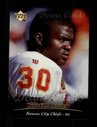 1995 Upper Deck #223  Donnell Bennett