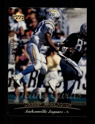 1995 Upper Deck #288  Darren Carrington