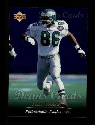 1995 Upper Deck #34  Fred Barnett
