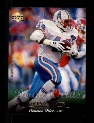 1995 Upper Deck #80  Lorenzo White