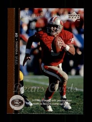 1996 Upper Deck #207  Steve Young