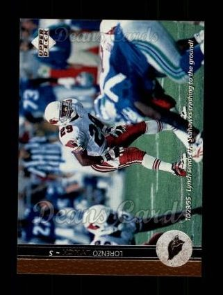 1996 Upper Deck #58  Lorenzo Lynch