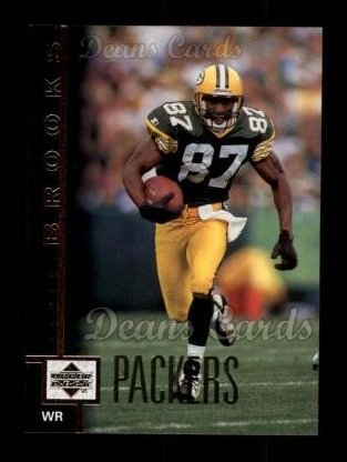 1997 Upper Deck #206  Robert Brooks