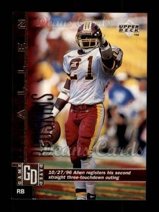 1997 Upper Deck #261  Terry Allen