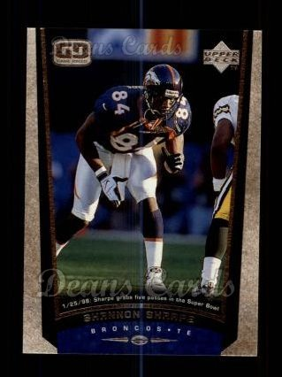 1998 Upper Deck #100  Shannon Sharpe
