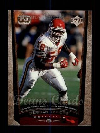 1998 Upper Deck #139  Derrick Thomas
