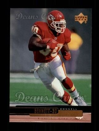 1999 Upper Deck #105  Donnell Bennett