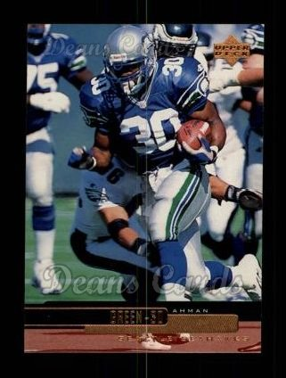 1999 Upper Deck #196  Ahman Green