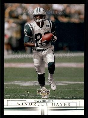 2001 Upper Deck #117  Windrell Hayes