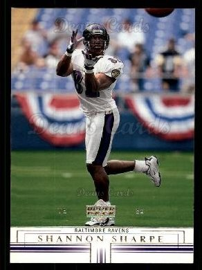 2001 Upper Deck #12  Shannon Sharpe