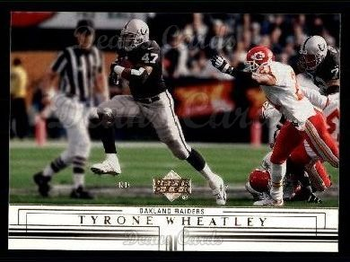 2001 Upper Deck #120  Tyrone Wheatley