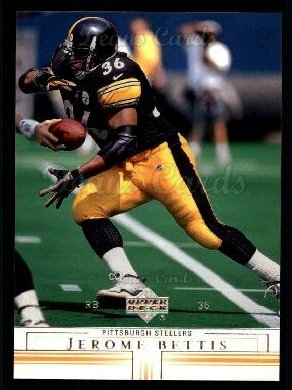 2001 Upper Deck #131  Jerome Bettis