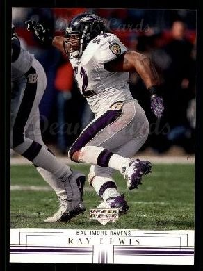 2001 Upper Deck #14  Ray Lewis